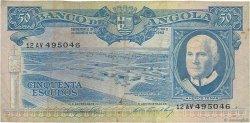 50 Escudos ANGOLA  1962 P.093 TB