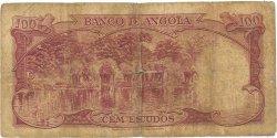 100 Escudos ANGOLA  1962 P.094 AB