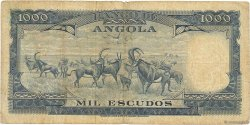 1000 Escudos ANGOLA  1970 P.098 B+