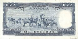 1000 Escudos ANGOLA  1970 P.098 SUP