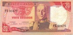 20 Escudos ANGOLA  1972 P.099 TTB
