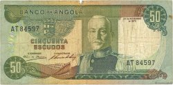 50 Escudos ANGOLA  1972 P.100 TB