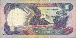 1000 Escudos ANGOLA  1972 P.103 TB
