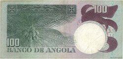 100 Escudos ANGOLA  1973 P.106 TTB