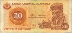 20 Kwanzas ANGOLA  1976 P.109a B+