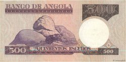 500 Escudos ANGOLA  1973 P.107 TTB