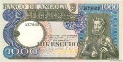 1000 Escudos ANGOLA  1973 P.108 SUP+