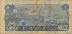 500 Kwanzas ANGOLA  1979 P.116 pr.TB