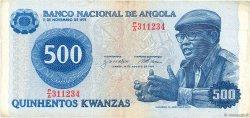 500 Kwanzas ANGOLA  1979 P.116 TTB