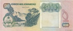 5000 Kwanzas ANGOLA  1991 P.130c TTB