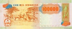 100000 Kwanzas ANGOLA  1991 P.133a SUP