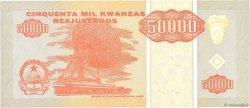 50000 Kwanzas Reajustados ANGOLA  1995 P.138 pr.NEUF