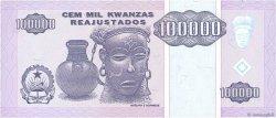 100000 Kwanzas Reajustados ANGOLA  1995 P.139 pr.NEUF