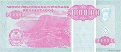 5000000 Kwanzas Reajustados ANGOLA  1995 P.142 SPL+