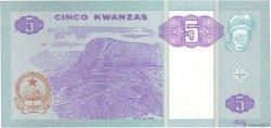 5 Kwanzas ANGOLA  2011 P.144c NEUF