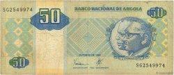 50 Kwanzas ANGOLA  1999 P.146a TB