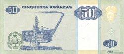 50 Kwanzas ANGOLA  1999 P.146a SUP