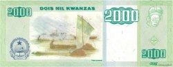 2000 Kwanzas ANGOLA  2003 P.151a NEUF