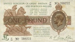 1 Pound ANGLETERRE  1928 P.361a TTB+