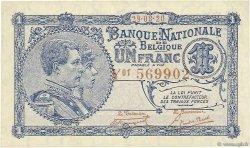 1 Franc BELGIQUE  1920 P.092 SUP+