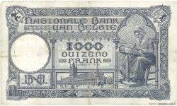 1000 Francs BELGIQUE  1924 P.096 TB