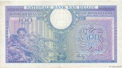 500 Francs = 100 Belgas BELGIQUE  1943 P.124 SUP