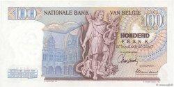 100 Francs BELGIQUE  1966 P.134a pr.NEUF
