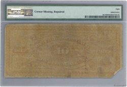10 Pesos Fuertes ARGENTINE  1876 PS.0517b B