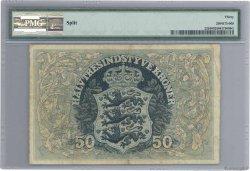 50 Kroner DANEMARK  1914 P.022b TTB