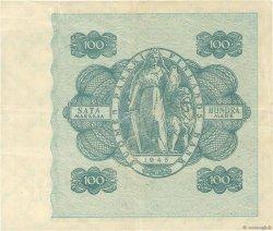 100 Markkaa FINLANDE  1945 P.080a TTB