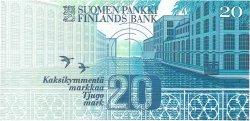 20 Markkaa FINLANDE  1993 P.123 pr.NEUF
