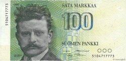 100 Markkaa FINLANDE  1986 P.115 SUP