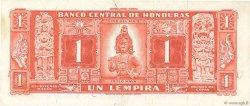 1 Lempira HONDURAS  1965 P.54Ab SPL