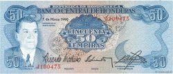 50 Lempiras HONDURAS  1990 P.66c NEUF