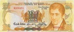 100 Lempiras HONDURAS  1990 P.69c NEUF