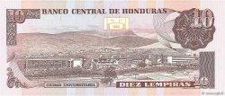 10 Lempiras HONDURAS  1989 P.70a NEUF