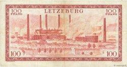 100 Francs LUXEMBOURG  1956 P.50a TTB
