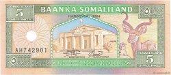 5 Shillings SOMALILAND  1994 P.01a NEUF