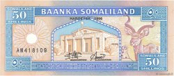 50 Shillings SOMALILAND  1996 P.04b NEUF