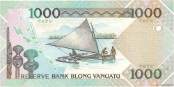 1000 Vatu VANUATU  2002 P.10 TTB