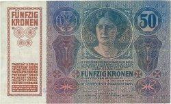 50 Korun TCHÉCOSLOVAQUIE  1919 P.003 TTB+