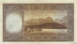 500 Korun TCHÉCOSLOVAQUIE  1945 P.064a TB