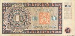 1000 Korun TCHÉCOSLOVAQUIE  1945 P.074a TTB