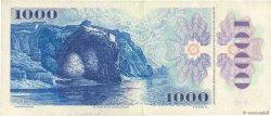 1000 Korun TCHÉCOSLOVAQUIE  1985 P.098a TTB