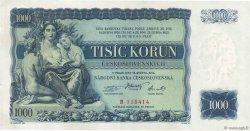 1000 Korun TCHÉCOSLOVAQUIE  1934 P.026a pr.NEUF