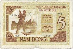 5 Dong VIET NAM  1946 P.004a B+