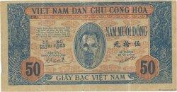 50 Dong VIET NAM  1947 P.011b TB+
