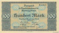 100 Mark MEMEL  1922 P.09 SPL