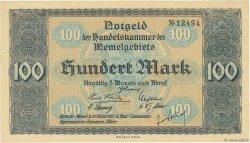 100 Mark MEMEL  1922 P.09 NEUF