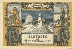 10 Mark MEMEL  1922 P.05a NEUF